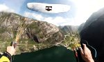 Lustiges Video : Acro Paragliding meets FPV