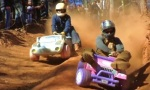 Barbie Jeep Racing